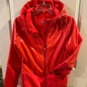 Nike Pink ThermaFit Rain Jacket